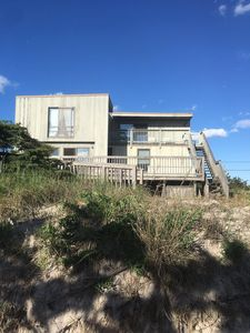 Photo for Full Summer 2019 Rental, great price!!  Ocean & Bay views, steps from Beach.