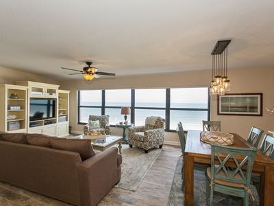 Photo for Amazing Beachfront Condo 22 Steps from Gulf water's edge in Belleair Beach, FL