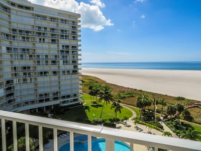 Photo for Lovely two-bedroom, two-bath condo with a southern view and two private balconies.
