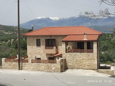 Photo for Very quiet Traditional stone villa at the nature in south Crete