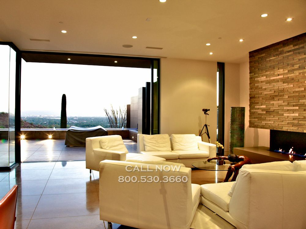 Camelback Luxury Mansion Best Location In Old Town Views Of City Night Ligh