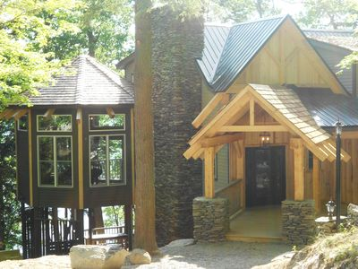 Photo for Timberframe Spa Lodge in the Woods on Skaneateles Lake, NY