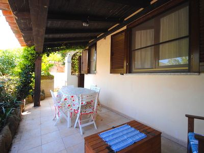Photo for QUIET VILLA WITH GARDEN TWO STEPS FROM THE SEA
