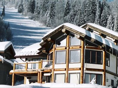 Photo for Ski in/out, hot tub, views, 2400', Voted 1 of 10 BEST CHALETS in BC by bcmag.c