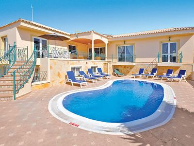 Photo for Large villa w/ sea view and terraced pool 5-minute drive from amenities