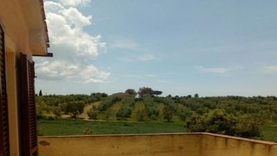 Photo for Apartment in the countryside in Magliano in Tuscany