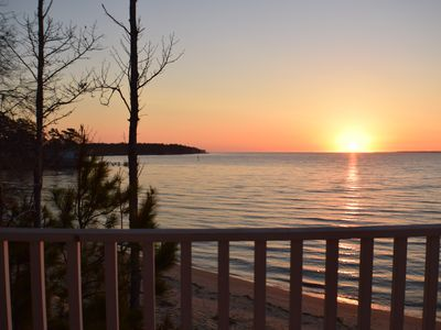 Photo for The MariAnne Cottage: Sunrise on the Neuse