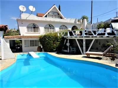 Photo for VILLA WITH POOL 200M FROM THE BEACH TWO SEPARATE LEVELS