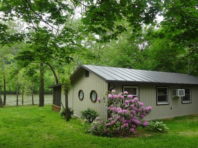 Photo for Chill'axin On The Shenandoah River Cabin Rental