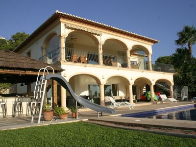 Photo for Large Luxury 5 bedroom Villa with Heated Private Pool