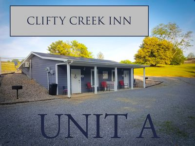 Photo for CLIFTY CREEK INN Unit A - 5 miles from Wolf Creek Dam, 2 miles from State Park