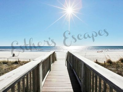 Photo for Right on the beach & beautiful sunsets!   Complimentary Beach Service Included!