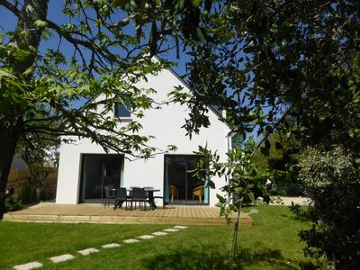 Photo for CARNAC Villa new, very equipped. 4 bedrooms, 2 bathrooms, 7 people
