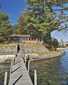 Photo for Log Cabin on Lake George, Dock Space