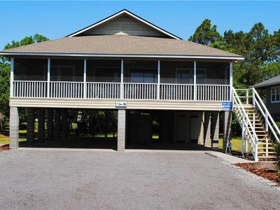 "Photo for Montgomery - ""Fishing Fever"": 4 BR / 2 BA house in Pawleys Island, Sleeps 10"