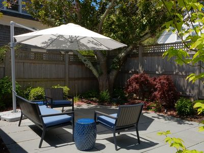Photo for #132: Spacious & impeccably clean one-bedroom on Vine Street w/ a patio & deck!