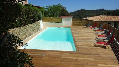 Photo for Villa Faounzina N ° 5, for 10 people, swimming pool, 300 m from the beach