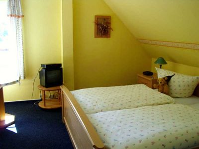 Photo for Room 1 (DZ) - family-friendly guesthouse with leisure facilities