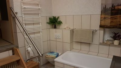 Photo for Apartment in the north of Erfurt, near A 71 / A4 / B4 / Bus u. Train. Quiet location.