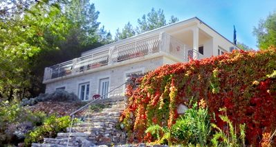 Photo for Villa Hvar Melody, first row to the sea! Blue apartment - capacity 2+2