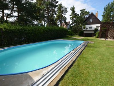 Photo for Very well kept house with covered swimming pool, 500m to the lake Orlik