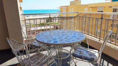 Photo for TORRES DEL MAR 4th - FIRST LINE - Rent only Families