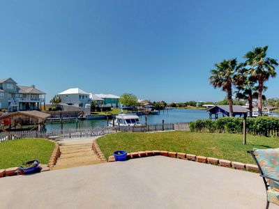 Photo for Bring your boat to this waterfront home in Perdido Key w/ a dock & large patio!