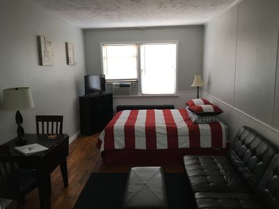 Photo for Salmon Festival, Fall color tour rates available!Loft style downtown 1 bedroom.