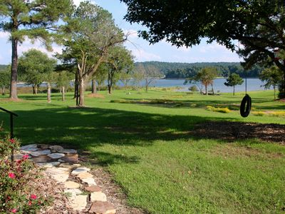 Photo for The Farm House on Beaver Lake - Lake Front, Easy Access, 180* View, Secluded
