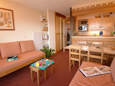 Photo for 2 room 5 bed self-catering apartment : 4 Sapins