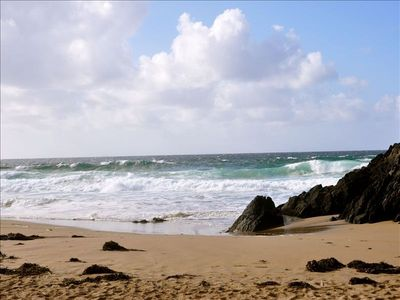 Clogher Beach, the perfect spot for your picnic. Across from O'Neill House.