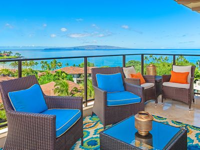Photo for APRIL SAVINGS:VACATION IN YOUR OWN PRIVATE MAUI PARADISE! Regal Mandalay M511,Panoramic Ocean Views!