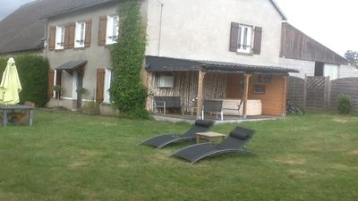 Photo for Sunny quiet rural gite, sleeps 6 to 8, in the park of the volcanoes of Auvergne