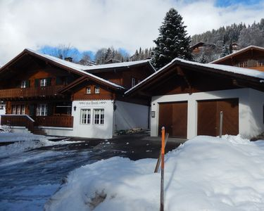Chalet frontage