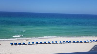 Photo for Renovated Beautiful Beach Front Condo with a Huge Balcony and Beach Service