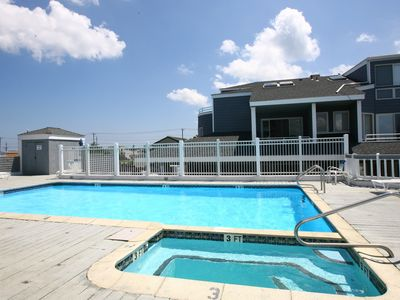 Photo for Spacious Bayfront Condo w/ Pool In The Heart Of Beach Haven