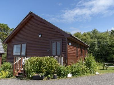 Photo for Cosy Lodge, sleeps 5ppl- Nr Arisaig & the Beach