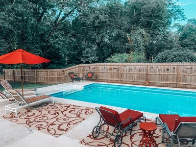 Photo for Farmhouse Style/Walking distance to downtown Monroe/Pool Included