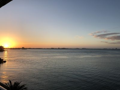 Amazing views of Boca Ciega Bay with breath taking sunsets
