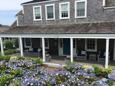 Beautiful Nantucket Vacation home located just on the edge of town