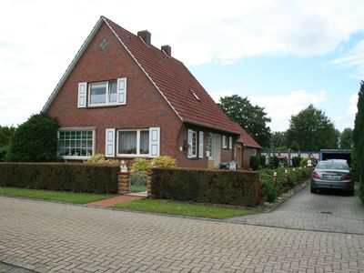 Photo for North Sea - Comfortable holiday home on 2000sqm canal plot near Greetsiel