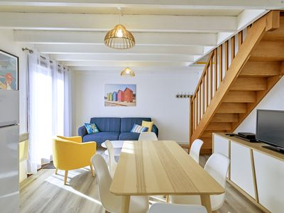 Photo for House with garden, 8 minutes Beach LA BAULE, residence with swimming pool