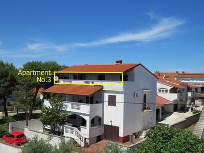 Photo for Apartmani Gloria-Leon, Top Location, Large apartment with terrace 50m2 and sea view