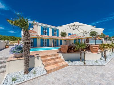Photo for Unique Luxury Villa with sea view, tennis court