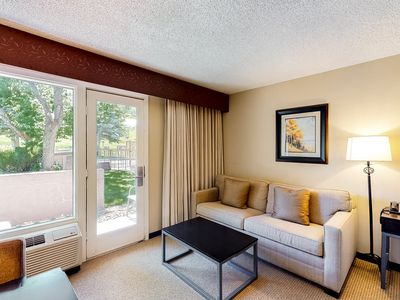 Photo for Room on 1st floor w/ free airport shuttle, 24-hour front desk, patio, elevator