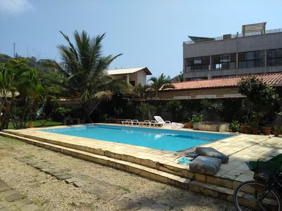 Photo for HOME W / POOL, NEXT. THE BEACH. VERY TASTY!