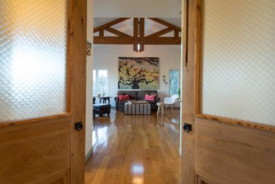 View from Master Suite Bedrm, Spacious Loftlike MainLiving/Dining, Kitchen,VIEWs