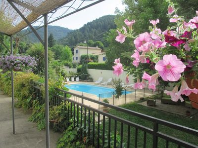 """Photo for Cottage """"Chestnut"""" with pool and games room in the Cevennes .."""