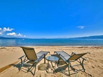 Photo for Luxury Tahoe Keys Home w/ Private Beach