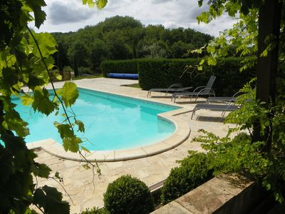 Photo for Barn, very comfortable, for 8 people between Montcuq and Lauzerte